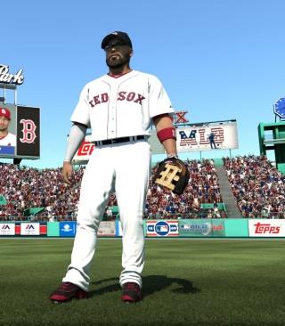 Baseball Red Sox - Obrázkek zdarma pro Nokia X7