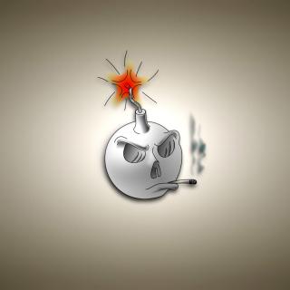 Bomb with Wick - Obrázkek zdarma pro iPad 3