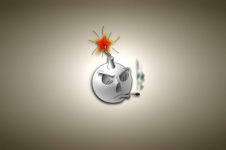 Bomb with Wick Wallpaper for Android, iPhone and iPad