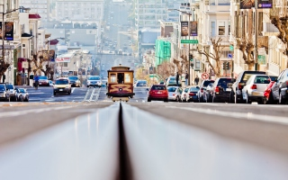 San Francisco Streets Background for Android, iPhone and iPad