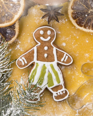 Xmas Gingerbread - Obrázkek zdarma pro Nokia Lumia 1020