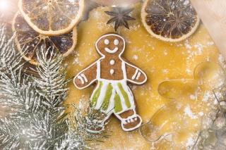 Xmas Gingerbread - Obrázkek zdarma pro 176x144