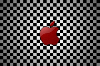 Apple Red Logo Wallpaper for Android, iPhone and iPad