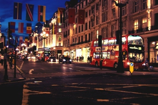 London Bus Background for Android, iPhone and iPad