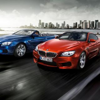 BMW M6 Convertible - Obrázkek zdarma pro iPad 2