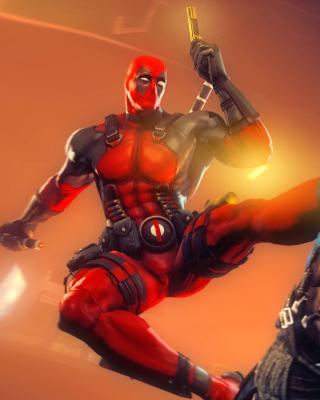 Deadpool Marvel Comics Hero - Obrázkek zdarma pro 640x960