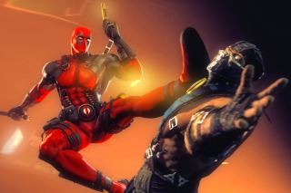 Deadpool Marvel Comics Hero - Obrázkek zdarma pro Widescreen Desktop PC 1920x1080 Full HD