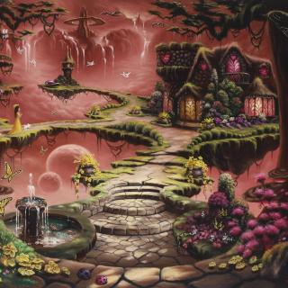 Fantasy Land Art - Obrázkek zdarma pro iPad