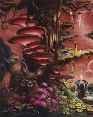 Fantasy Land Art - Obrázkek zdarma pro 480x800