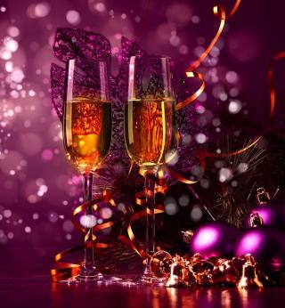 New Year's Champagne - Obrázkek zdarma pro iPad mini