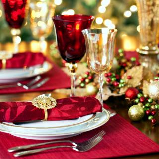 Christmas Dinner Idea - Obrázkek zdarma pro 320x320