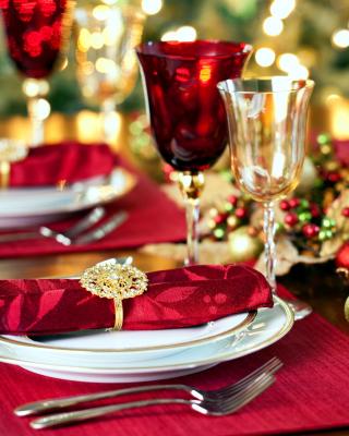 Christmas Dinner Idea - Obrázkek zdarma pro Nokia Asha 303