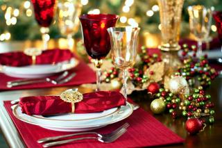 Christmas Dinner Idea - Obrázkek zdarma pro 720x320