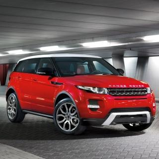 Land Rover Range Rover Evoque SUV Red - Obrázkek zdarma pro iPad mini 2