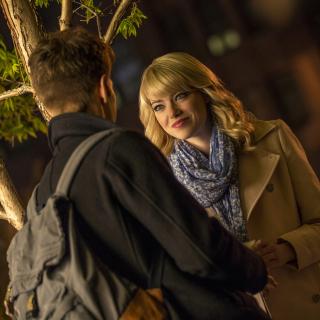 Emma Stone In New Spiderman - Obrázkek zdarma pro iPad