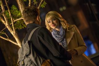 Emma Stone In New Spiderman - Obrázkek zdarma pro HTC Wildfire