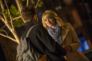 Emma Stone In New Spiderman - Obrázkek zdarma pro Motorola DROID
