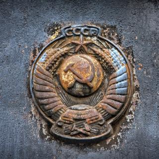 USSR Logo - Obrázkek zdarma pro iPad mini