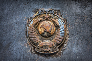USSR Logo - Obrázkek zdarma pro Samsung Galaxy Tab 3 8.0