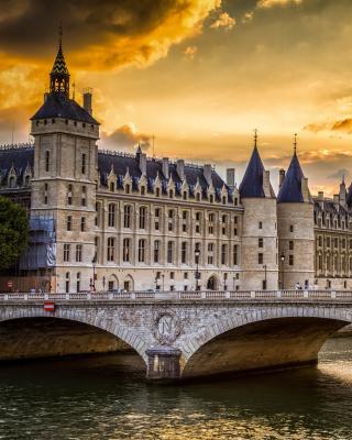 La conciergerie Paris Castle - Obrázkek zdarma pro Nokia C3-01 Gold Edition