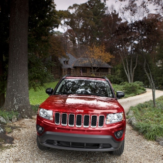 Jeep Compass - Obrázkek zdarma pro iPad
