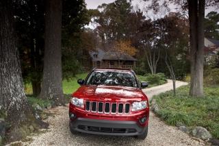 Jeep Compass - Obrázkek zdarma pro Samsung Galaxy Note 3