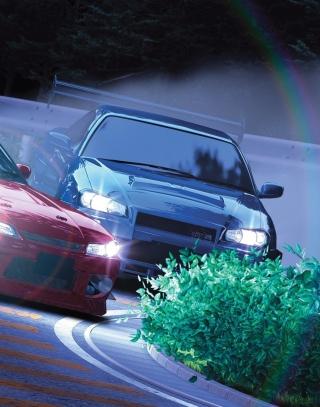 Drifting Cars - Obrázkek zdarma pro Nokia Asha 202