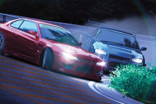 Drifting Cars - Obrázkek zdarma pro Samsung Galaxy A5