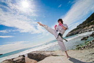 Karate Picture for Android, iPhone and iPad