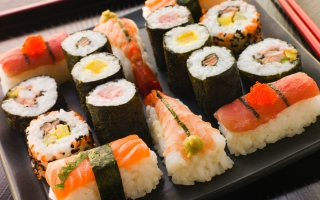 Free For Sushi Lovers Picture for Android, iPhone and iPad