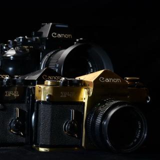 Canon F1 Reflex Camera - Obrázkek zdarma pro iPad