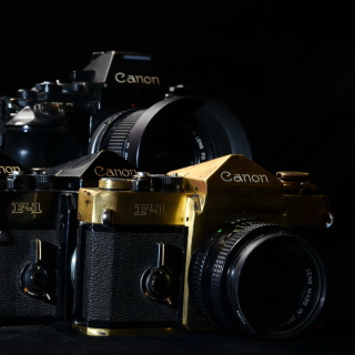 Canon F1 Reflex Camera - Obrázkek zdarma pro iPad mini