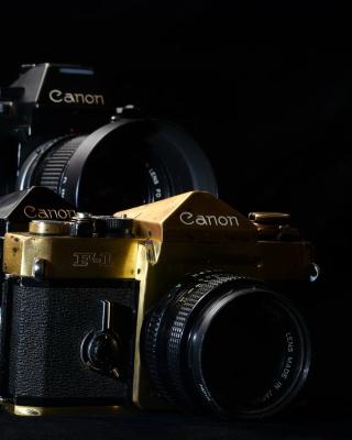 Canon F1 Reflex Camera - Obrázkek zdarma pro 480x640
