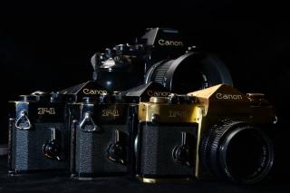 Canon F1 Reflex Camera - Obrázkek zdarma pro 1440x900