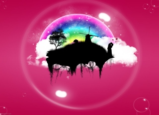 Pink World Picture for Android, iPhone and iPad
