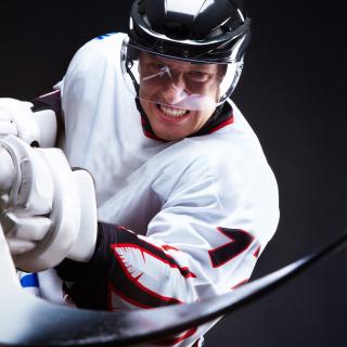Hockey Player - Obrázkek zdarma pro 128x128