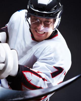 Hockey Player - Obrázkek zdarma pro 320x480