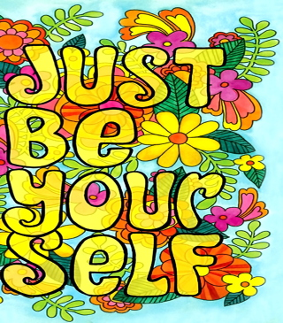 Just Be Yourself - Obrázkek zdarma pro 132x176