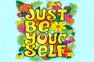 Just Be Yourself - Obrázkek zdarma pro Widescreen Desktop PC 1920x1080 Full HD