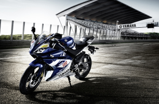 YZF R125 Yamaha Race Motor Picture for Android, iPhone and iPad