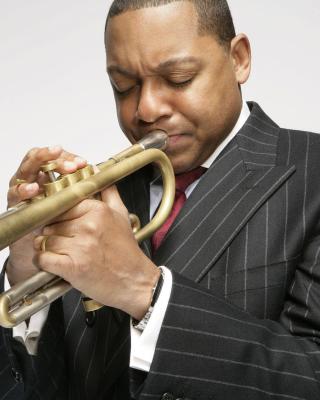 Jazz, Wynton Marsalis - Obrázkek zdarma pro 640x960
