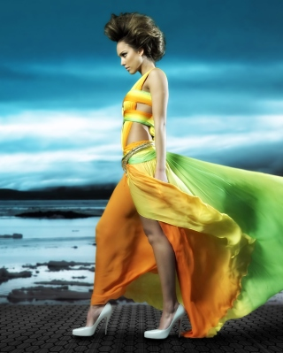 Jessica Alba - Obrázkek zdarma pro iPhone 5S