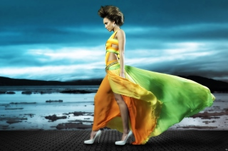 Jessica Alba - Obrázkek zdarma pro Samsung Galaxy Note 4
