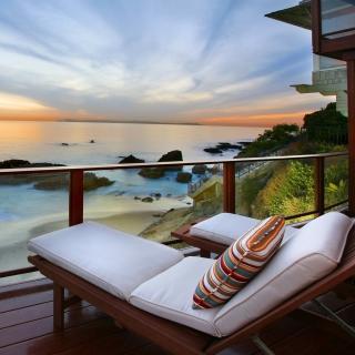 Sunset Relax - Obrázkek zdarma pro iPad mini 2