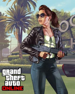 Grand Theft Auto V Girl - Obrázkek zdarma pro iPhone 6 Plus
