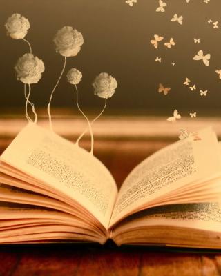 Books Fairy Butterflies - Obrázkek zdarma pro Nokia Asha 202