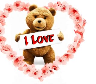 Love Ted - Obrázkek zdarma pro 1024x1024