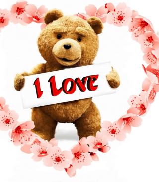 Love Ted - Obrázkek zdarma pro iPhone 5S