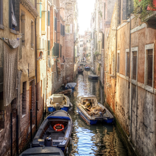 Canals of Venice Painting - Obrázkek zdarma pro 320x320