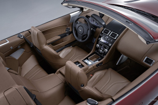 Aston Martin DBS Interior - Obrázkek zdarma pro LG P700 Optimus L7